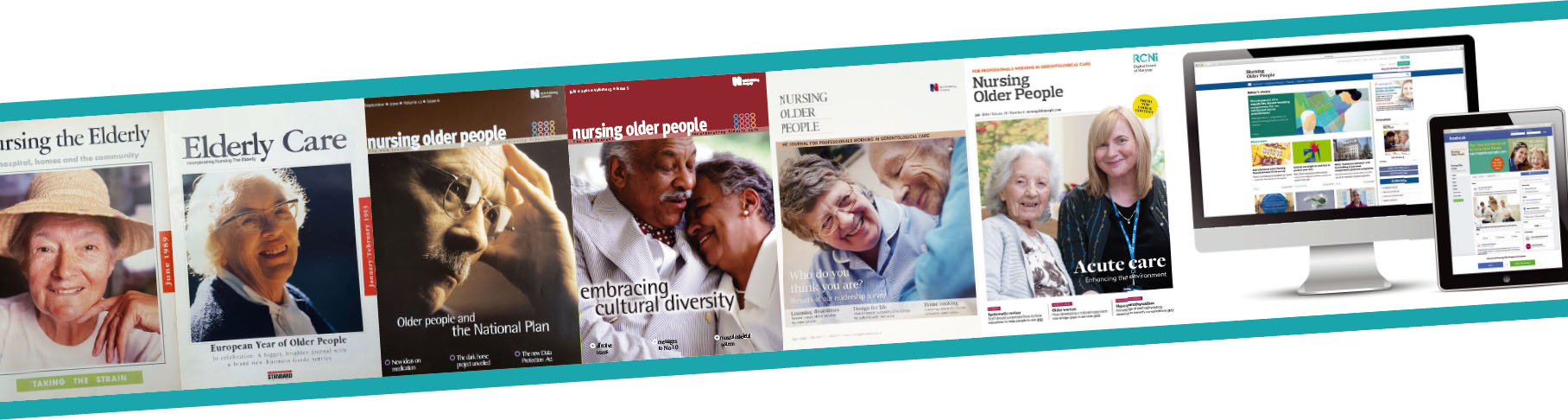 Three decades of older people's nursing reflected in our pages